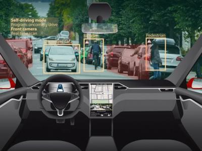 Tesla Model 3 a autonómne vozidlá