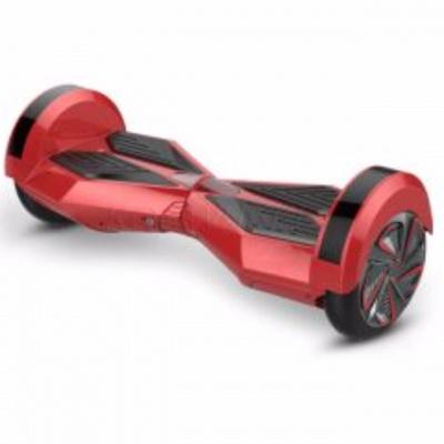 Hoverboard 8 palcov Červeno čierny 250 cyklový