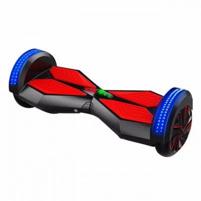 Hoverboard 8 palcov Čierno červený 250 cyklový