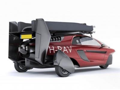 Liberty lietajúci automobil