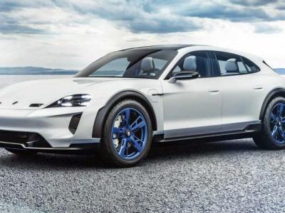 Nové Porsche Mission E Cross Turismo