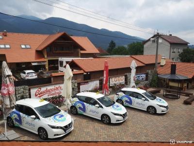 Taxíky - elektromobily jazdia v Martine bez problémov