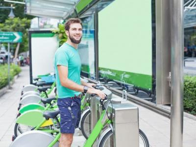 Zdieľanie bicyklov v Nitre