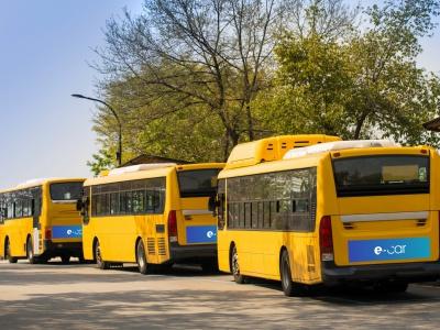 Elektrické mestské autobusy