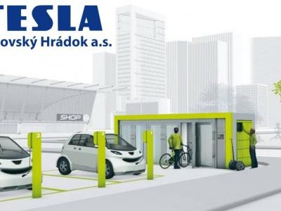 Tesla v Liptovskom Hrádku sa zameria na elektromobilitu
