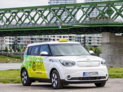 E-taxíky jazdia aj v Bratislave