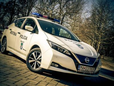 Mestská polícia si elektromobil pochvaľuje